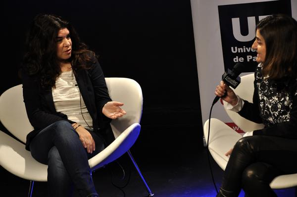 Bettina Frumboli charla Up y revista Vanidades