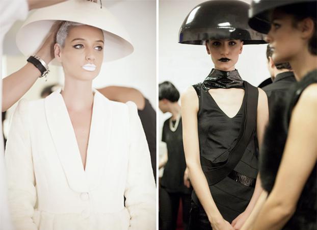 Producción para desfile de Zitta para Fashion Week 2014