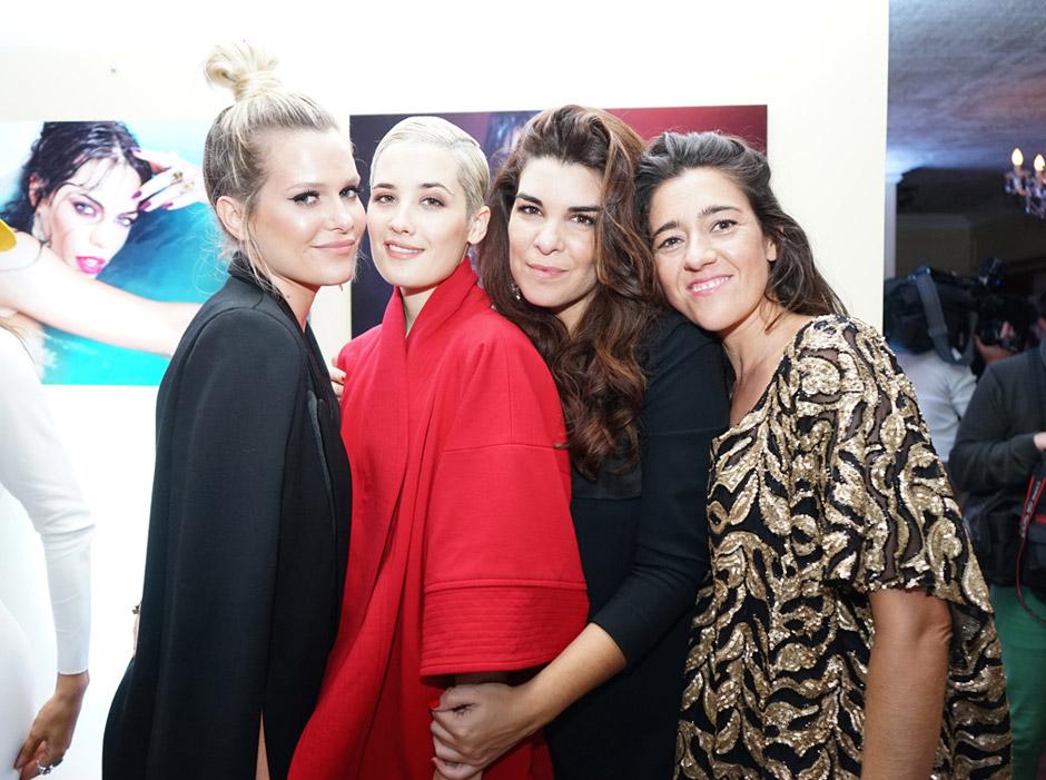 Jenny Williams, Flor Torrente, Bettina Frumboli e Ines Garcia Baltar