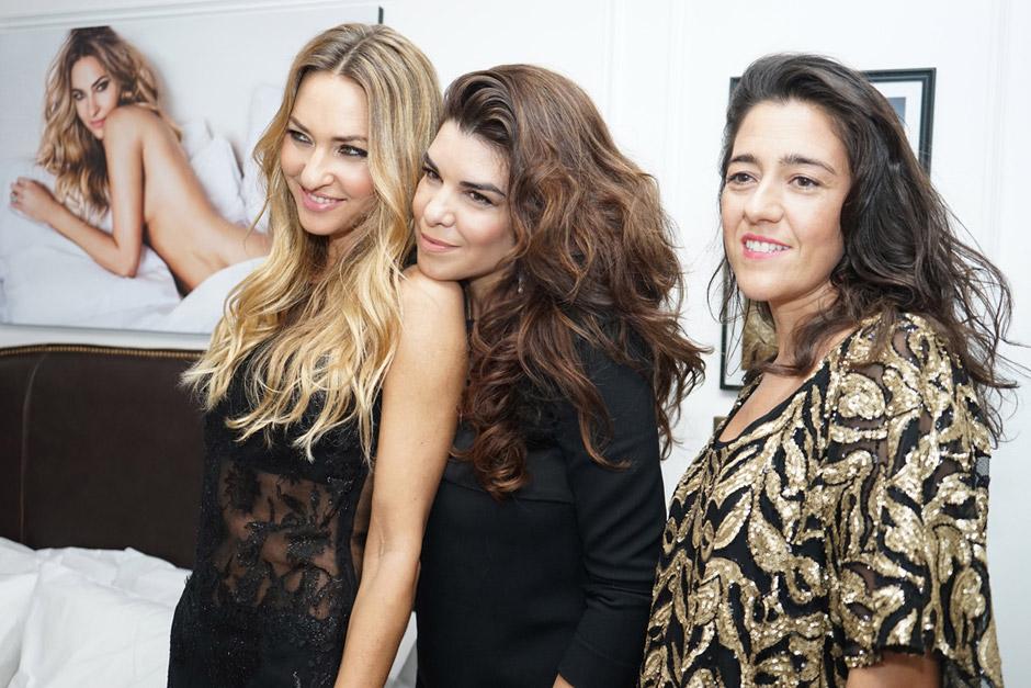 Andrea Bursten, Bettina Frumboli e Ines Garcia Baltar