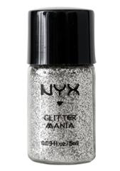 Glitter plateado NIX
