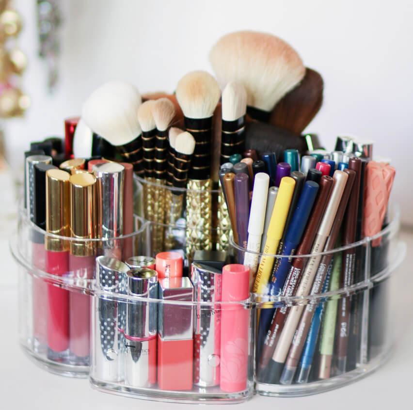 Organizar los maquillajes