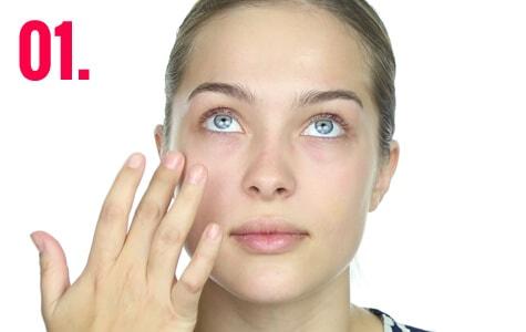 Primer paso para crear un make-up tendencia