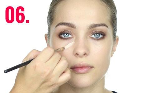 Make-up tendencia de invierno