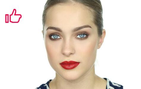 Look terminado: maquillaje tendencia