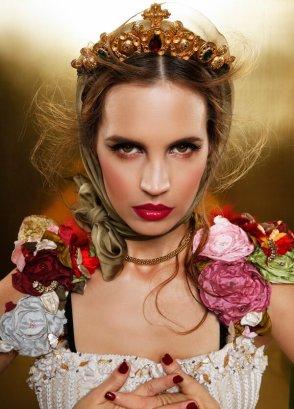 Estilismo para la producción de Beauty File por Andrés Pastor