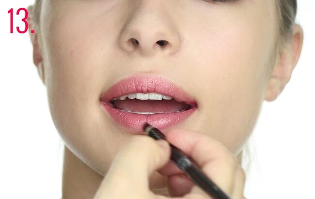 Paso 13 makeup Oriana Sabatini
