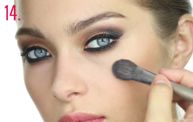 Paso 14 maquillaje Oriana Sabatini
