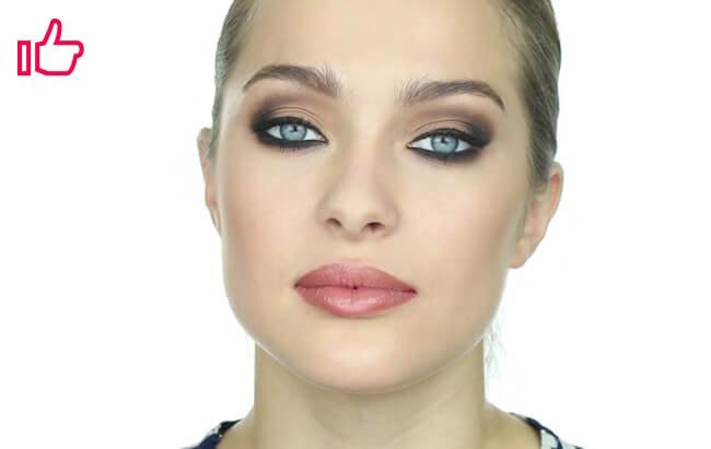 Maquillaje Oriana Sabatini terminado