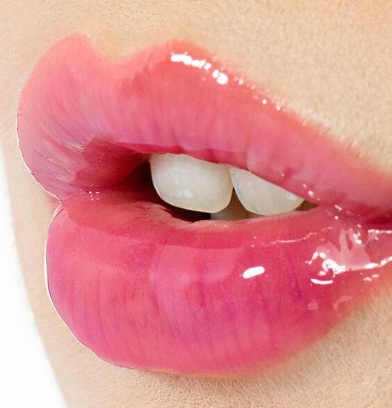 Brillo o Gloss de labios Bolso de maquillaje