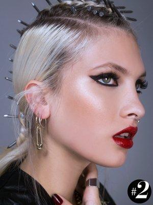 maquillaje punk