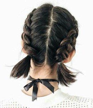 Tres peinados con trenzas para cabello corto Looks Revista de