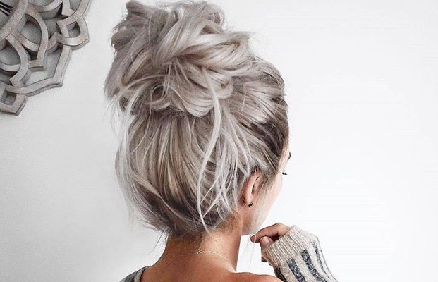 cabello gris