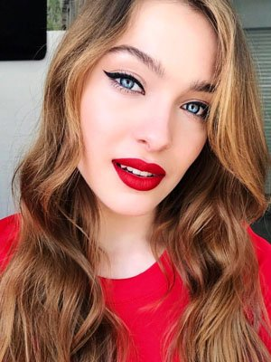 labial rojo