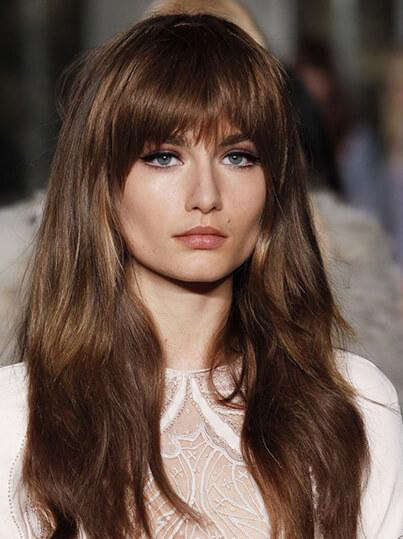melenas sueltas tendencia peinados primavera verano 2020