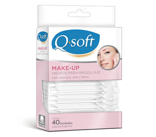 Hisopos makeup QSoft