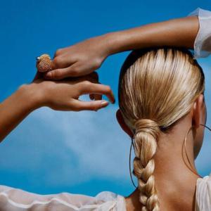 peinados para proteger el pelo del sol