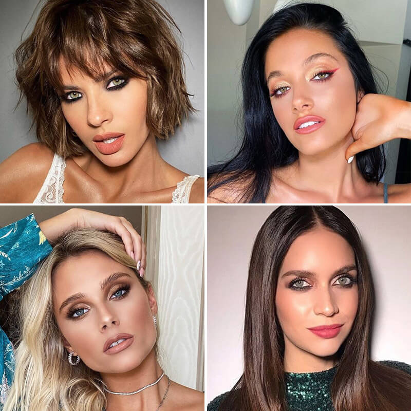 makeup looks - Escuela de maquillaje Frúmboli Estudio