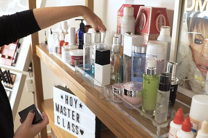 curso maquillaje profesional - productos