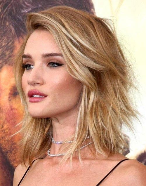 Tendencia en cortes de pelo y peinados otoño invierno 2020 - Lob asimetrico