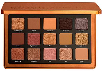 Bronze eyeshadow palette